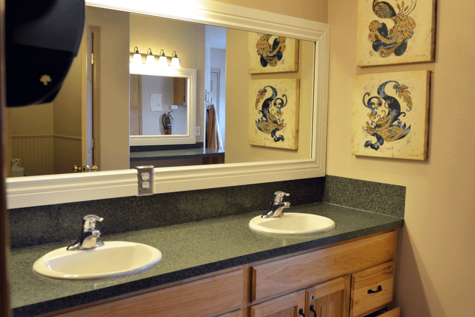 Bathroom at the Parks House at New Haven Residential Treatment Center