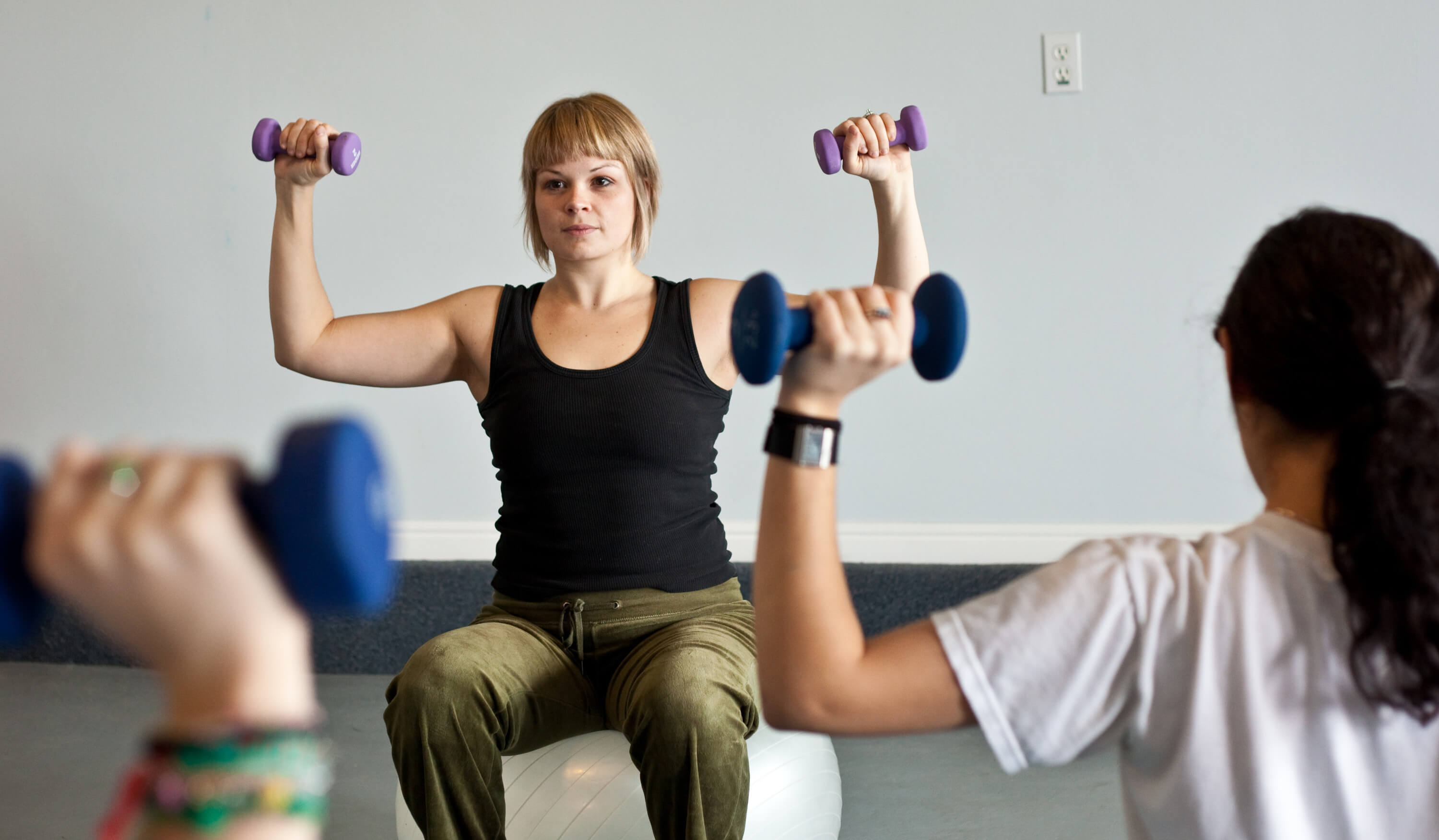 P.E. Teacher Lifting Weights at New Haven