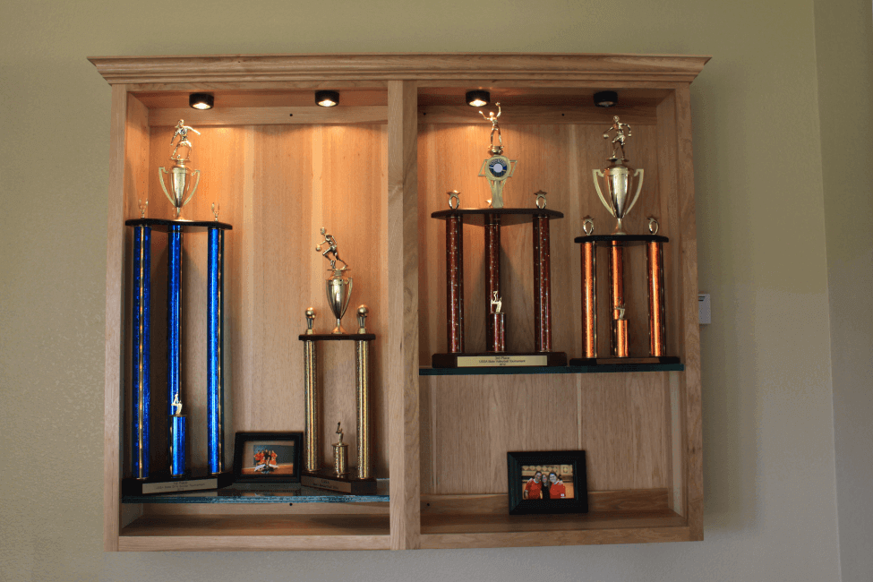 Trophies earned by New haven Students