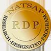 natsap research designated program logo