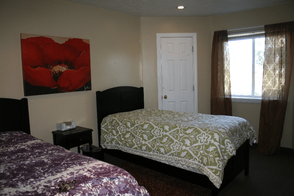 Bedroom at New Haven Residential Treatment Center