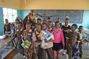 School Children in Zambia
