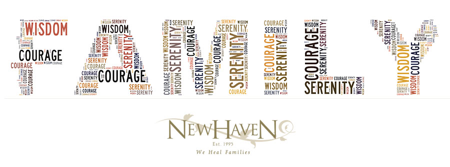 Family Logo with the Serenity Prayer