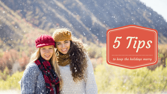 5 tips for the holidays merry | New Haven Residential Treatment