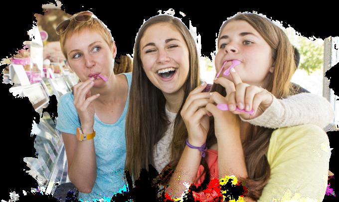 ice cream shop girls