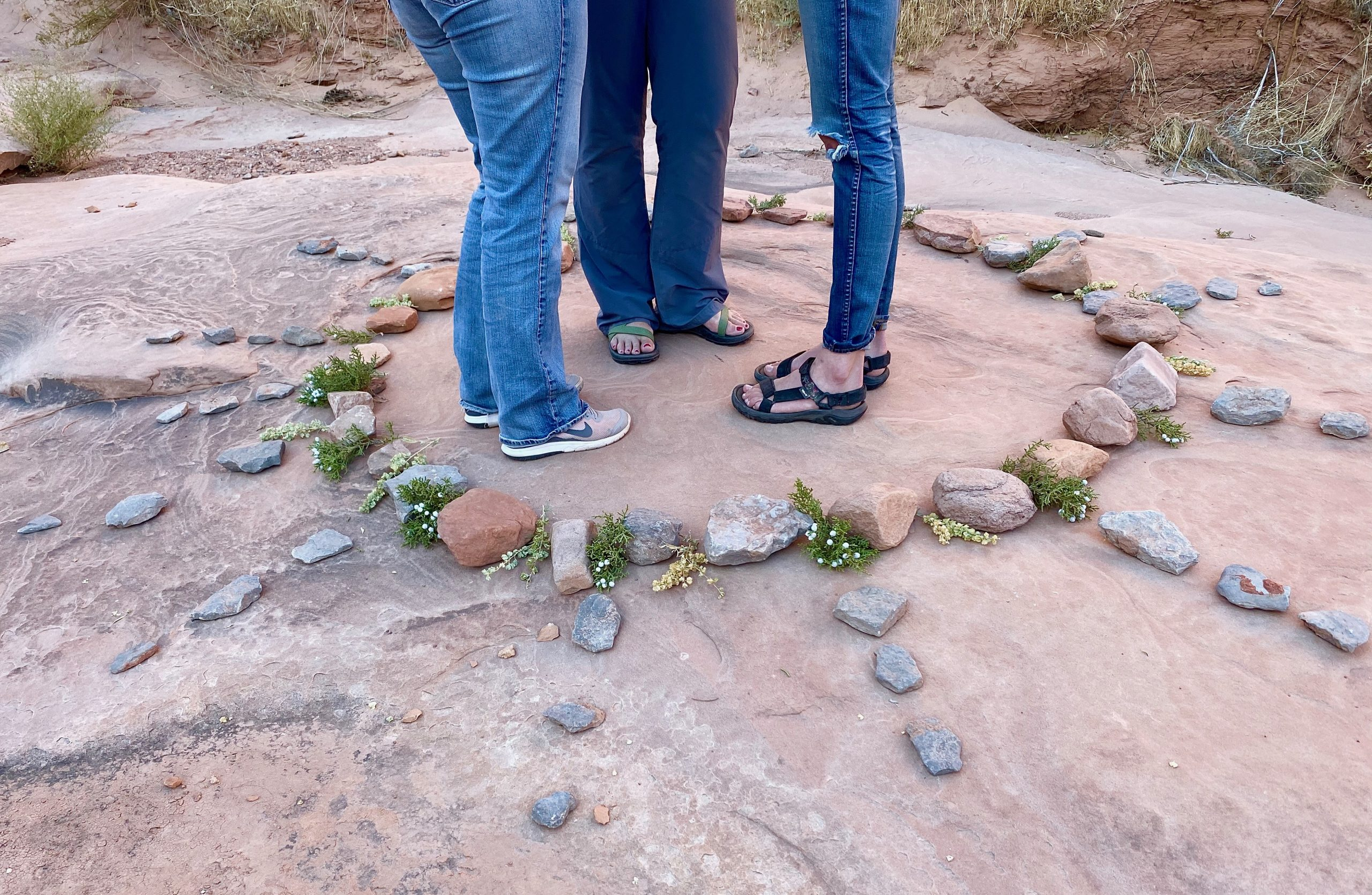 2010- First Student trip to Navajo Nation